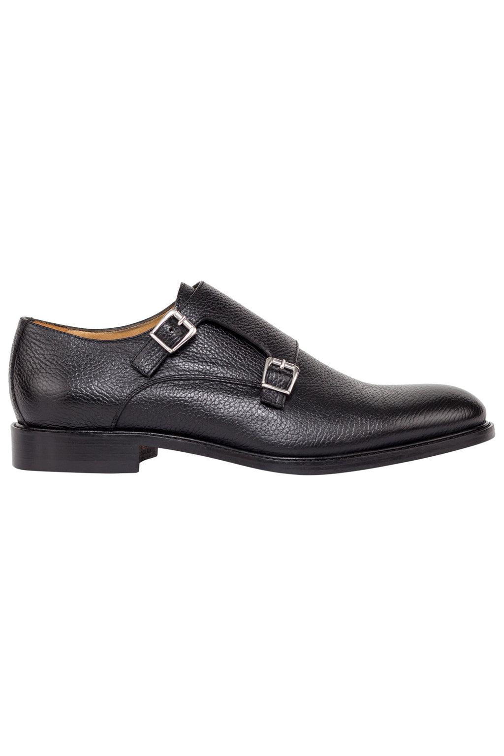 Leather Double Monkstrap