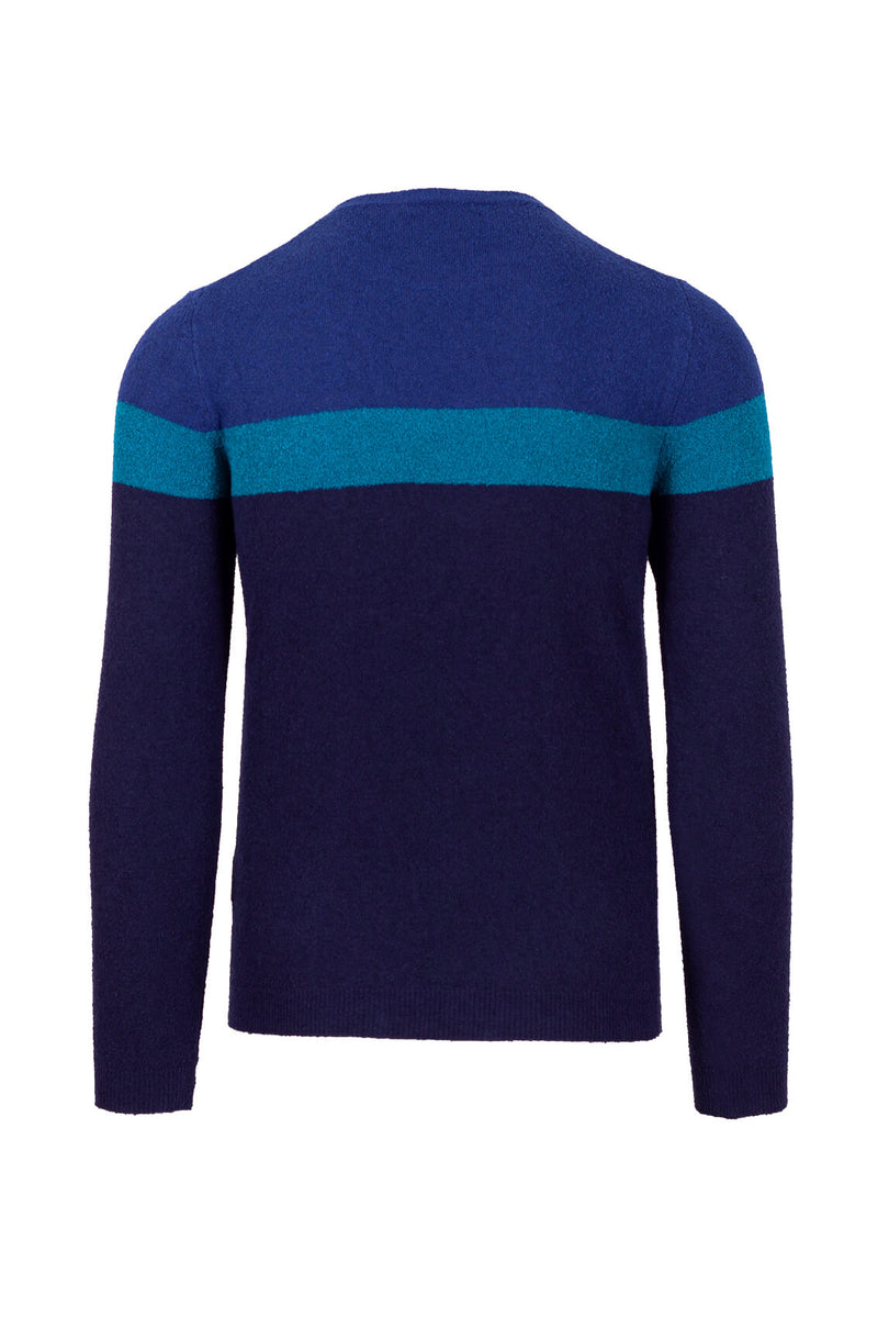 MONTEZEMOLO - Knitwear - Boucle' Cotton Blend Crewneck - MONTEZEMOLO
