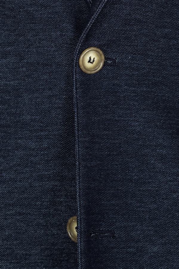 MONTEZEMOLO Men's Clothing - Jackets - Denim Jersey Jacket - www.montezemolostore.com
