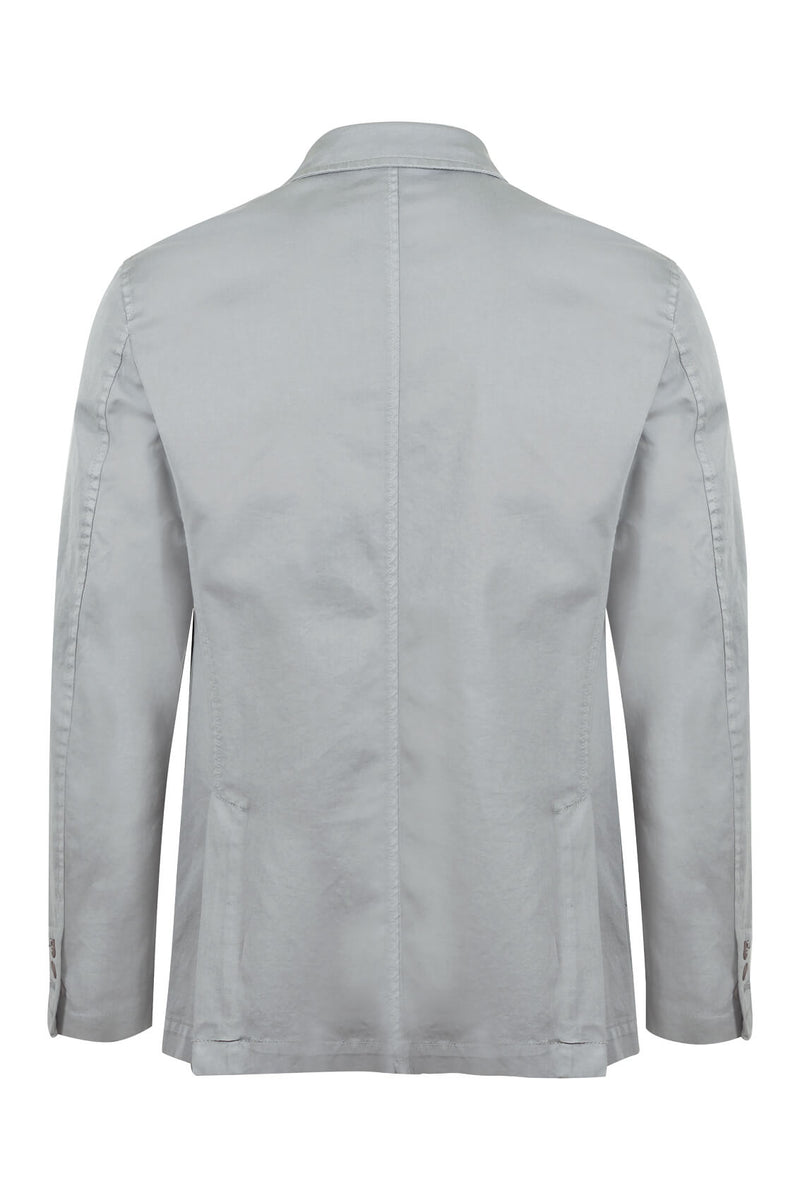 MONTEZEMOLO Men's Clothing - Jackets - Twill Cotton Washed Jacket - www.montezemolostore.com