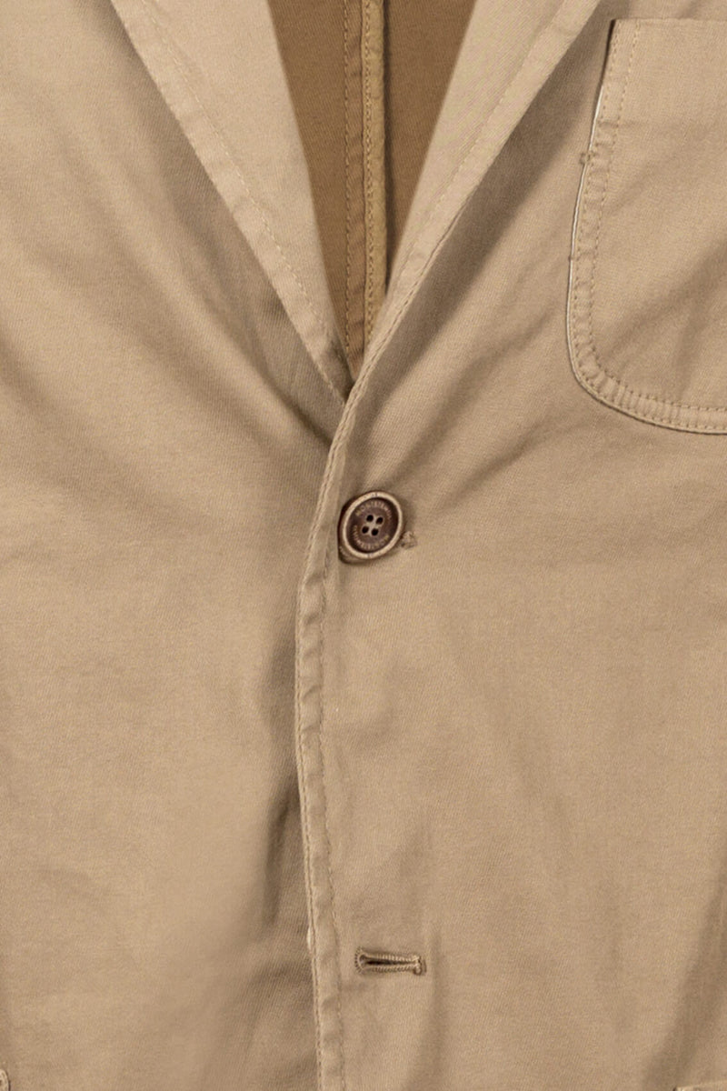 Twill Cotton Washed Jacket