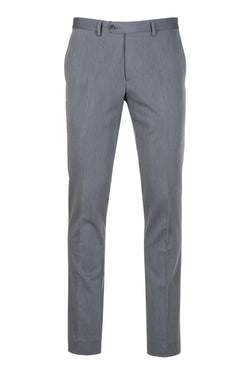 MONTEZEMOLO Men's Clothing - Trousers - Grey Tecno-Silk Trousers - www.montezemolostore.com