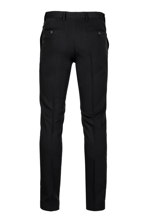 MONTEZEMOLO - Trousers - Black Tecno-Silk Trousers - MONTEZEMOLO