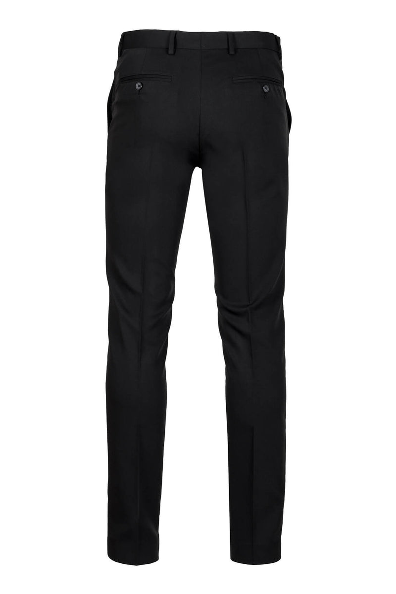 MONTEZEMOLO Men's Clothing - Trousers - Black Tecno-Silk Trousers - www.montezemolostore.com