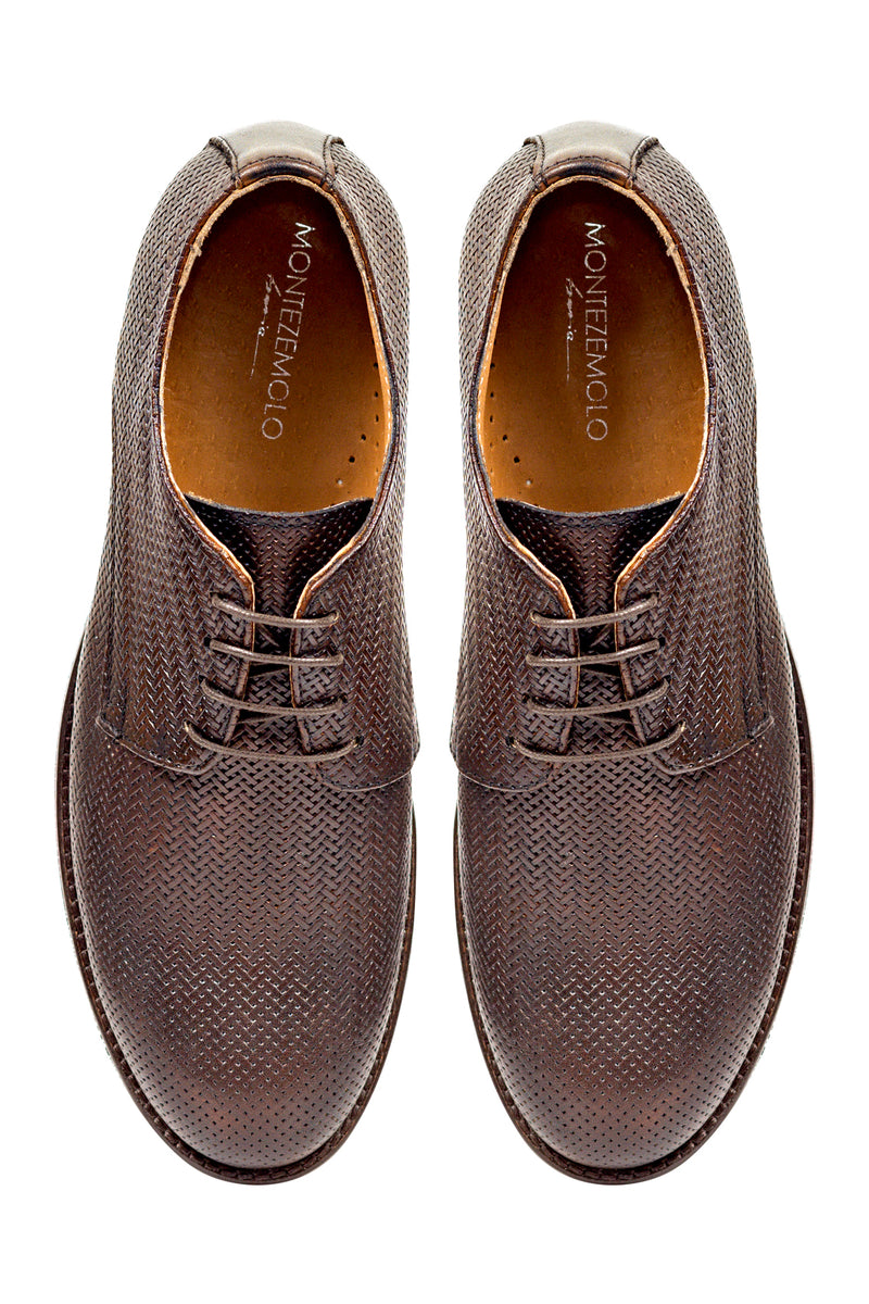 Textured Leather Derby