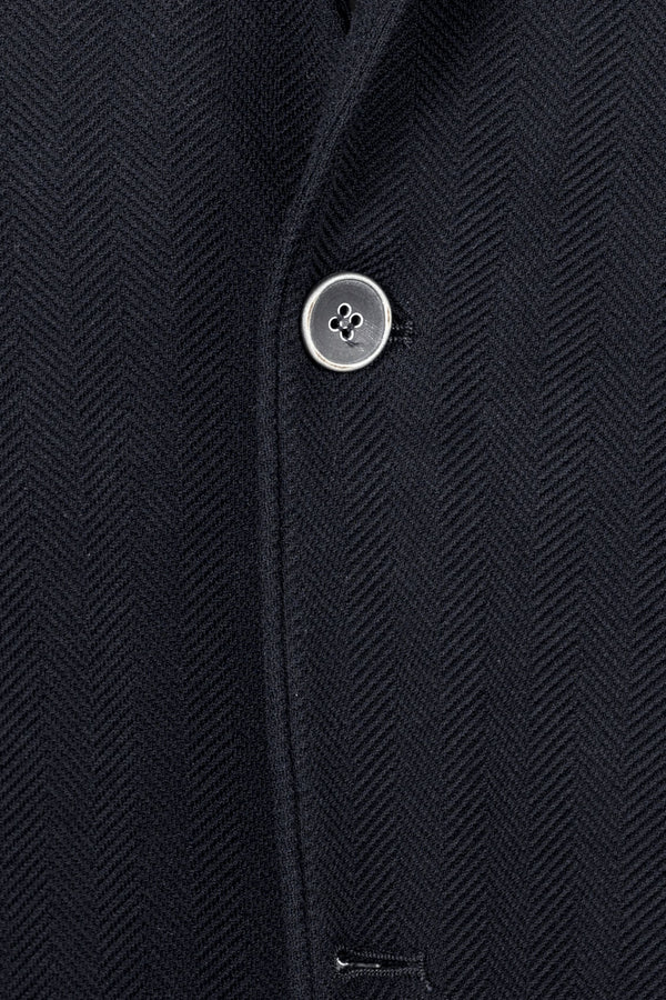 MONTEZEMOLO Men's Clothing - Jackets - Jersey Herringbone Cotton Jacket - www.montezemolostore.com