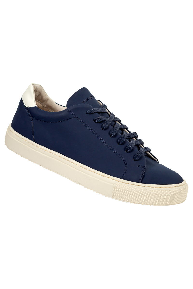 Rubber Coated Leather Sneakers