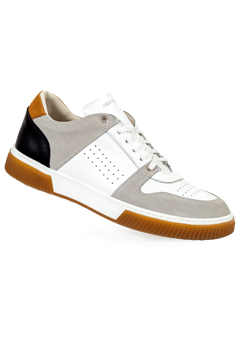 MONTEZEMOLO - Sneakers - Leather Sneakers - MONTEZEMOLO