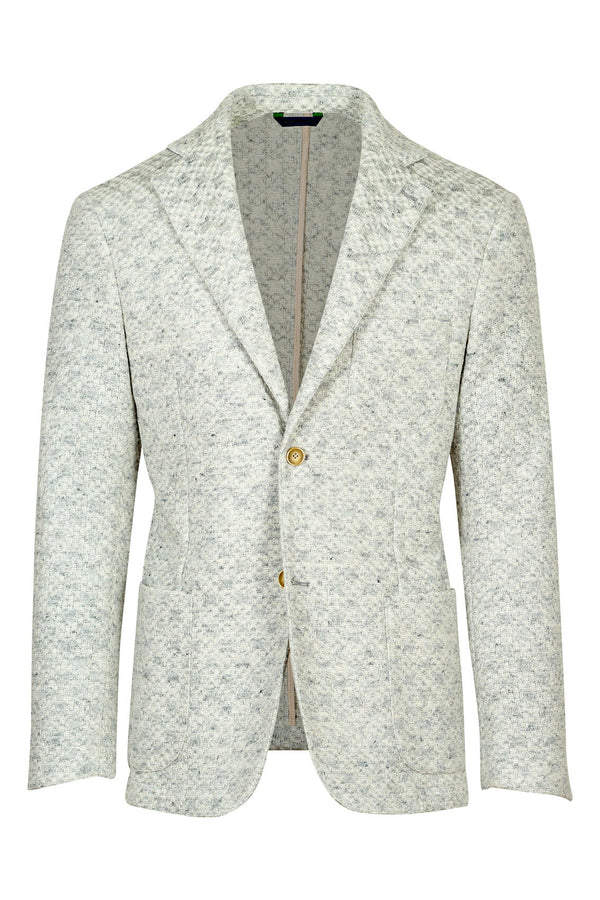 MONTEZEMOLO Men's Clothing - Jackets - Cotton & Linen Jersey Jacket - www.montezemolostore.com
