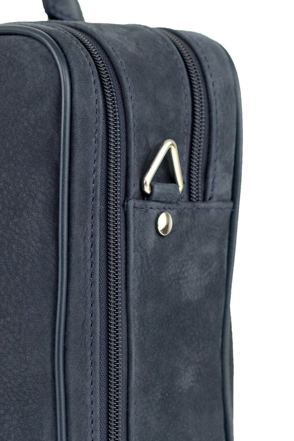 MONTEZEMOLO Men's Clothing - Bag - Nubuck Briefcase - www.montezemolostore.com
