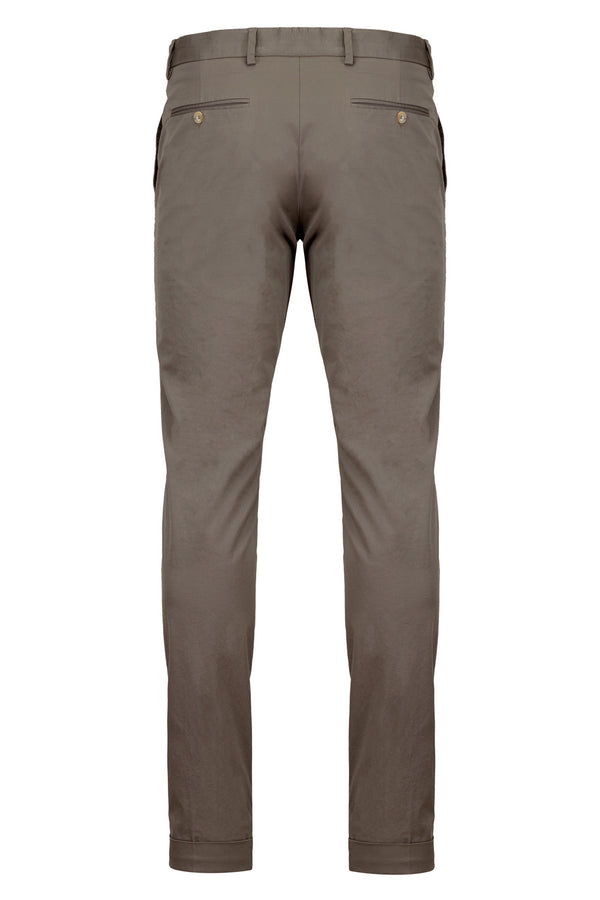 MONTEZEMOLO - Trousers - Pima Cotton Chino - MONTEZEMOLO