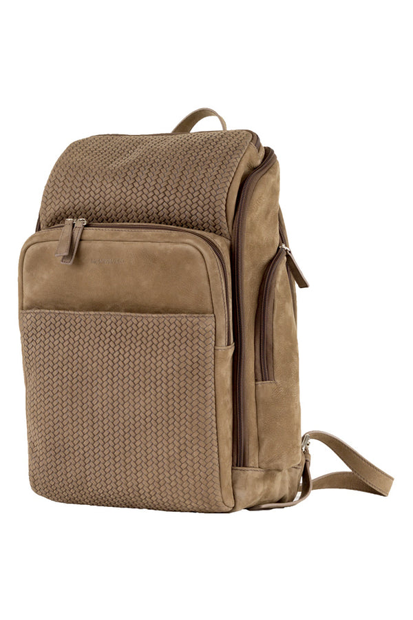 MONTEZEMOLO - Bag - Intrecciato Nubuck Backpack - MONTEZEMOLO