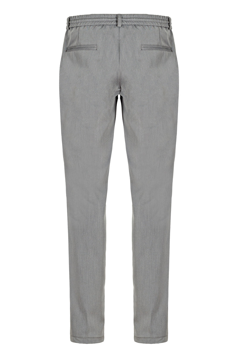 MONTEZEMOLO Men's Clothing - Trousers - Tecno-Silk Chino With Drawstring - www.montezemolostore.com