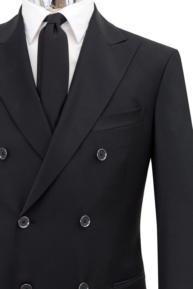 MONTEZEMOLO Men's Clothing - Suits - Doublebreasted Virgin Wool Suit - www.montezemolostore.com