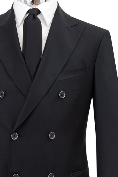 Doublebreasted Virgin Wool Suit , Suits - MONTEZEMOLO www.montezemolostore.com - 6