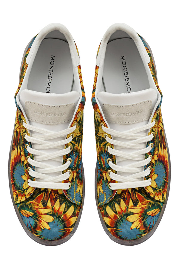 MONTEZEMOLO Men's Clothing - Sneakers - Sunflower Sneakers - www.montezemolostore.com
