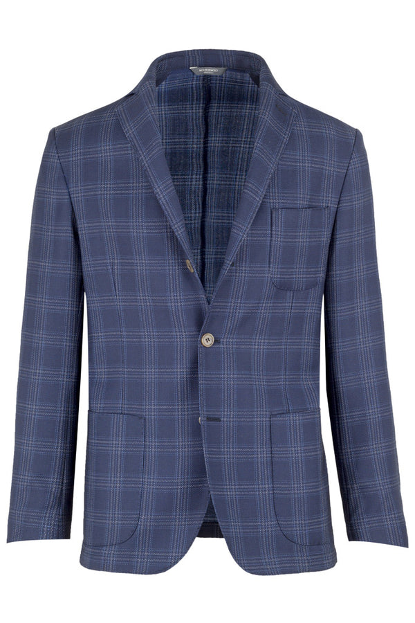 MONTEZEMOLO - Jackets - Checked Wool Jacket - MONTEZEMOLO