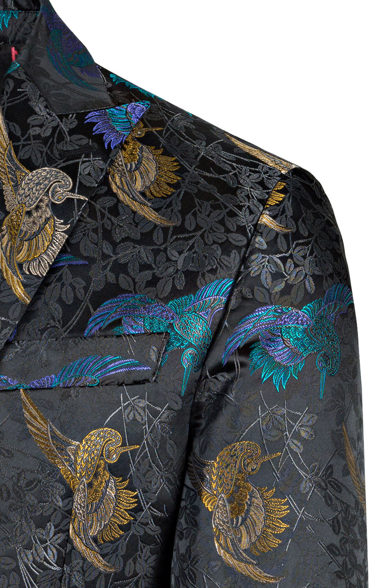 Silkbird Brocade Red Carpet Jacket