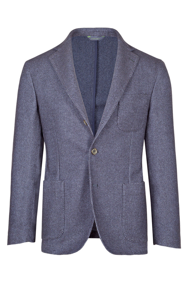 Bird's-Eye Virgin Wool Jacket