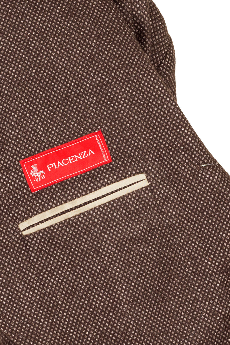 MONTEZEMOLO Men's Clothing - Jackets - Bird's-Eye Virgin Wool Jacket - www.montezemolostore.com