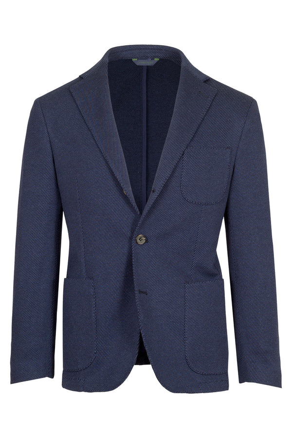 MONTEZEMOLO Men's Clothing - Jackets - Jersey Wool & Cotton Jacket - www.montezemolostore.com