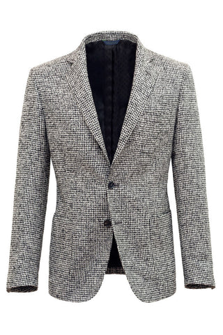 Wool Silk & Linen Fancy Jacket