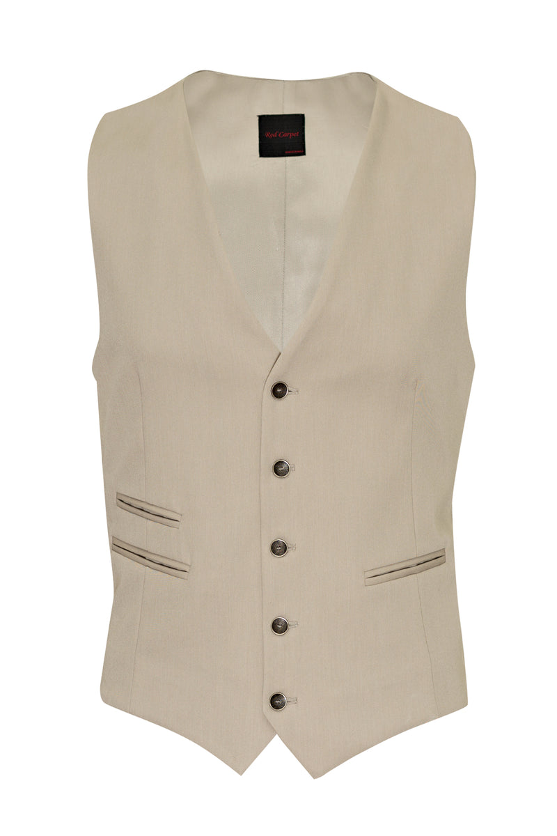 MONTEZEMOLO Men's Clothing - Vests - Plain Red Carpet Waistcoat - www.montezemolostore.com
