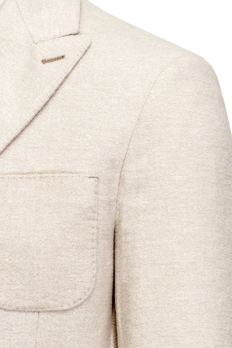 MONTEZEMOLO Men's Clothing - Jackets - Wool-Silk & Linen Doublebreasted Jacket - www.montezemolostore.com
