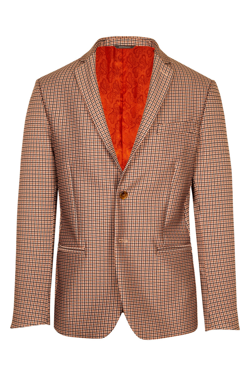 Pied-de-Poule Fancy TecnoSilk Jacket