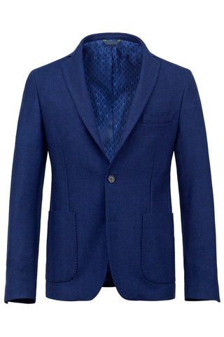 Wool & Cashmere Herringbone Jacket