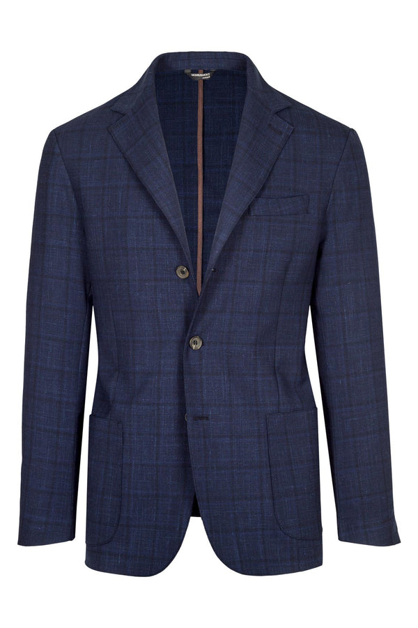 MONTEZEMOLO Men's Clothing - Jackets - Prince-of-Wales Wool blend Jacket - www.montezemolostore.com