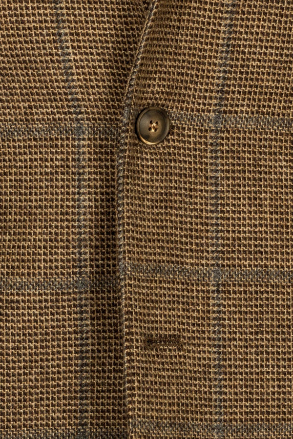 Prince-of-Wales Wool Jacket
