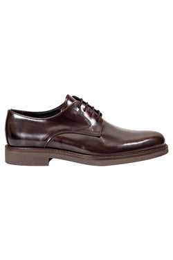 MONTEZEMOLO Men's Clothing - Lace Up Shoes - Patent Leather Derby - www.montezemolostore.com