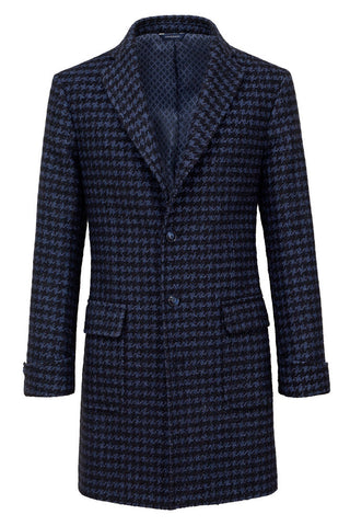 Pied-de-Poule Fancy Coat