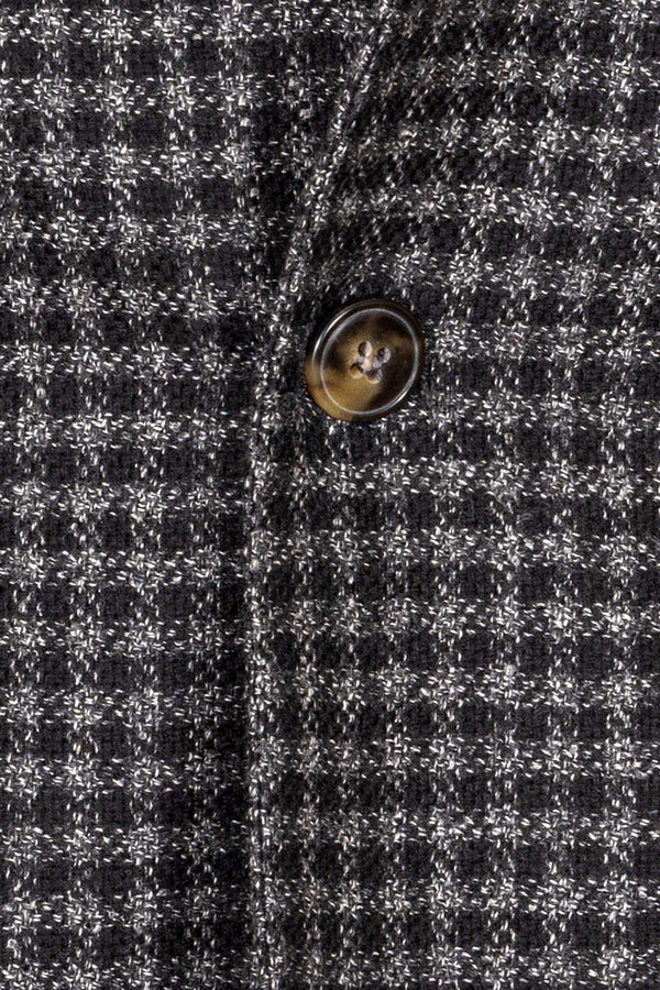 MONTEZEMOLO Men's Clothing - Jackets - Check Wool & Silk Blend Jacket - www.montezemolostore.com