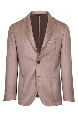 MONTEZEMOLO Men's Clothing - Jackets - Twill Weave Wool Jacket - www.montezemolostore.com