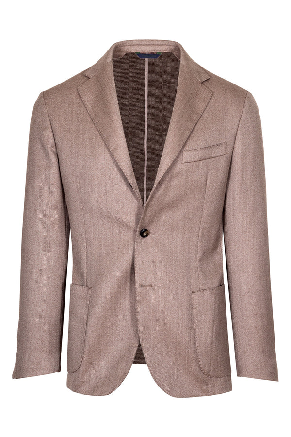 Twill Weave Wool Jacket