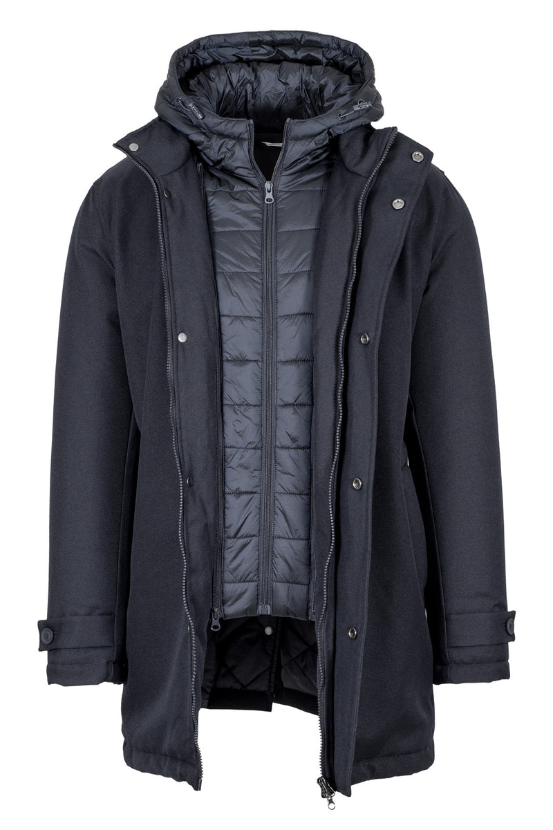 Parka with Detachable Vest