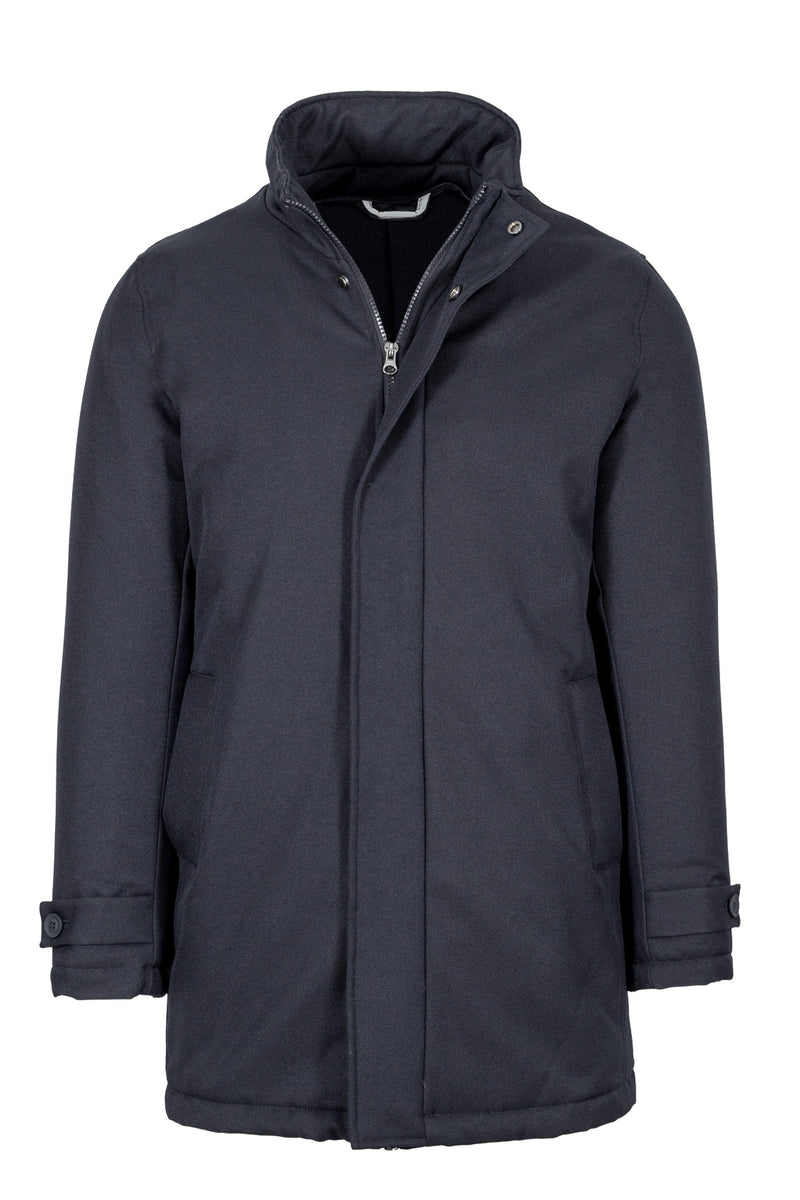 MONTEZEMOLO Men's Clothing - Outerwear - Parka with Detachable Vest - www.montezemolostore.com