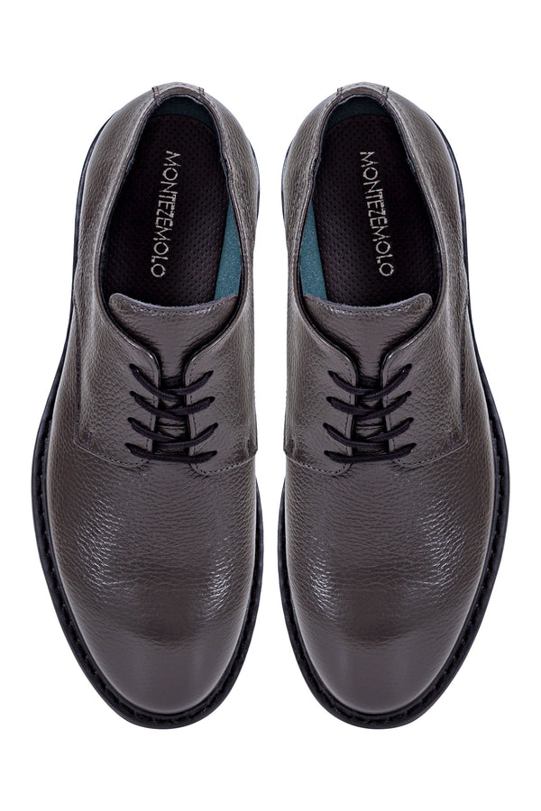 MONTEZEMOLO Men's Clothing - Lace Up Shoes - Leather Derby Shoes - www.montezemolostore.com
