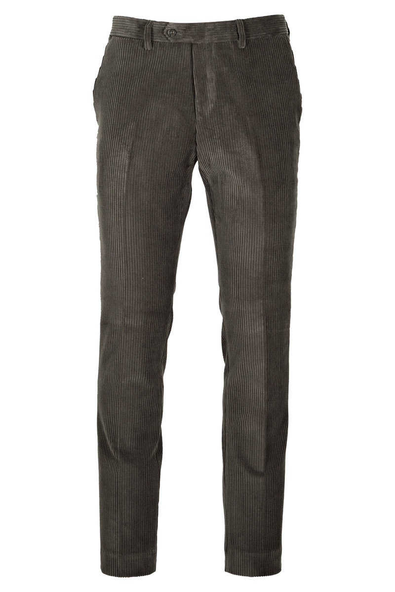 MONTEZEMOLO Men's Clothing - Trousers - Delavé Stone Washed Corduroy Trousers - www.montezemolostore.com