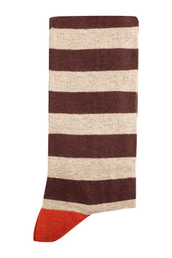 MONTEZEMOLO Men's Clothing - Socks - Striped Socks - www.montezemolostore.com