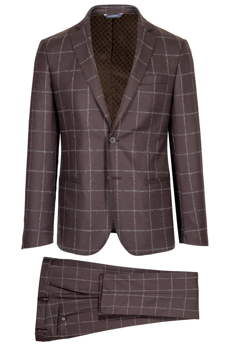 Wool & Cashmere Check Suit
