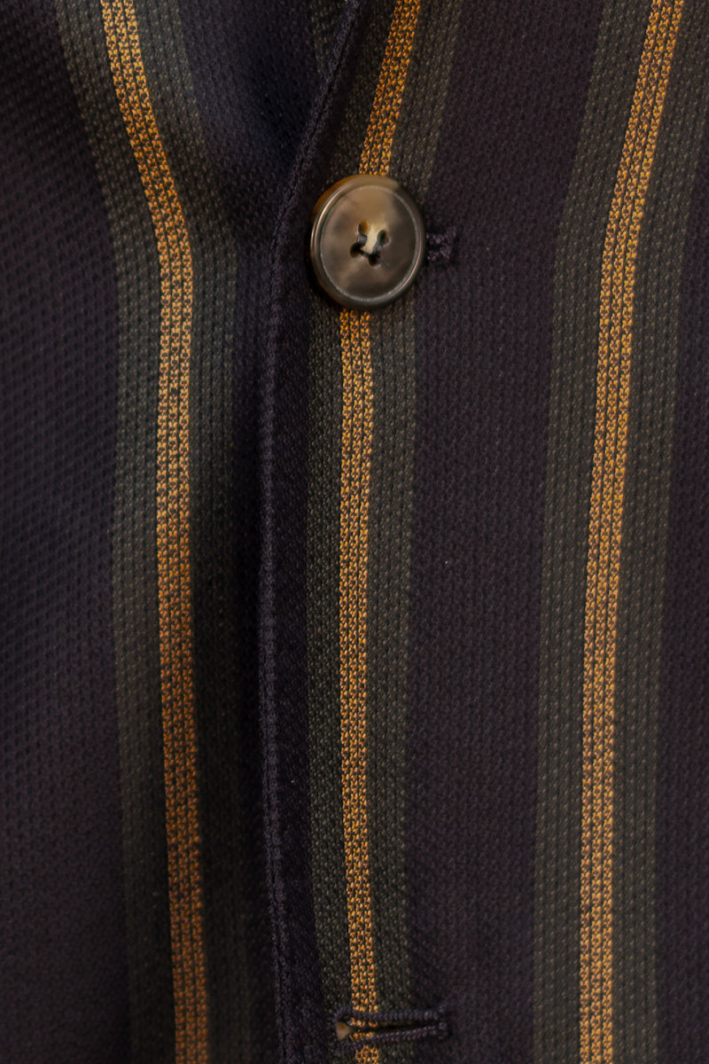 MONTEZEMOLO Men's Clothing - Jackets - Wool & Silk Blend Striped Jacket - www.montezemolostore.com