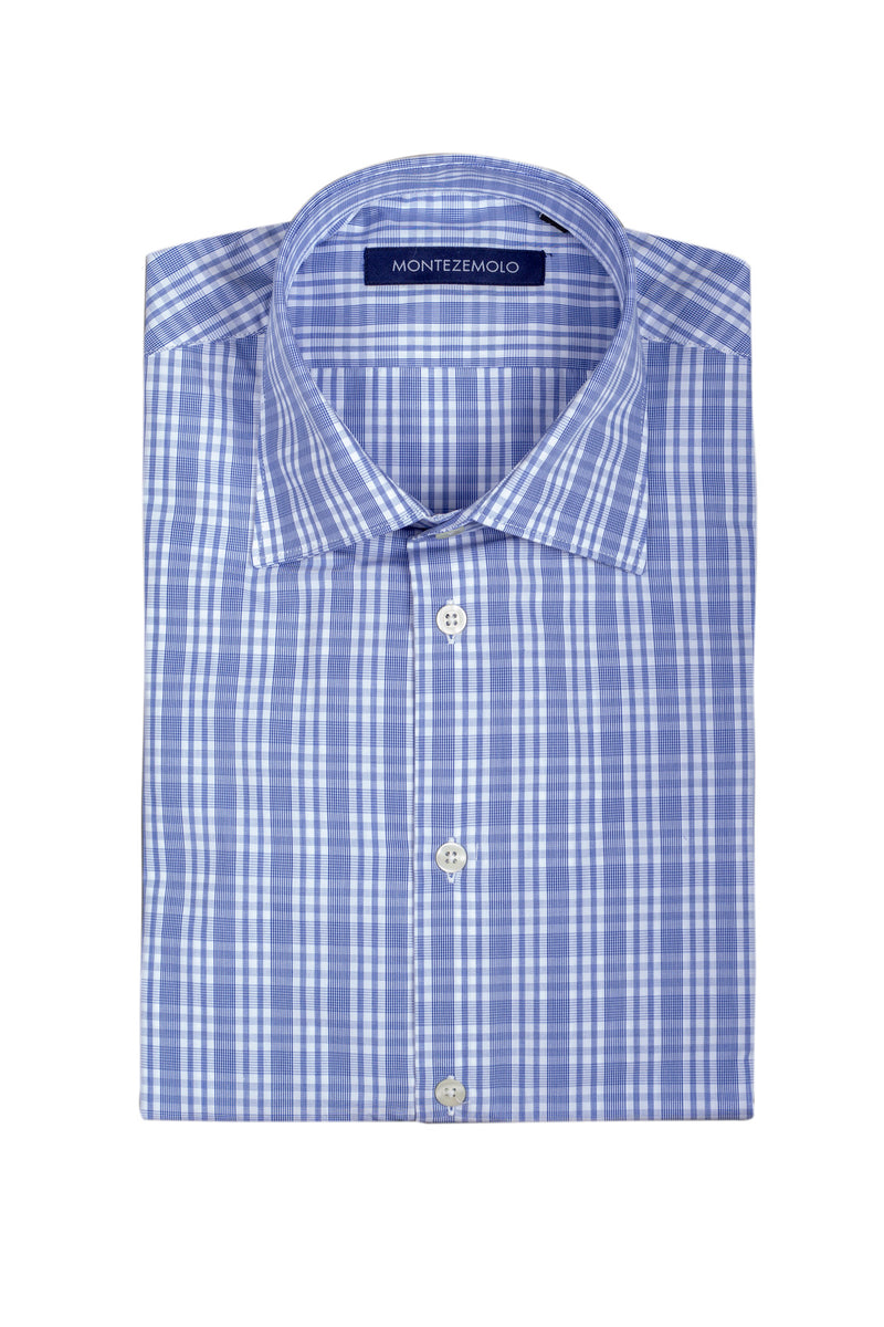 MONTEZEMOLO Men's Clothing - Shirts - Checkered Cotton Shirt - www.montezemolostore.com