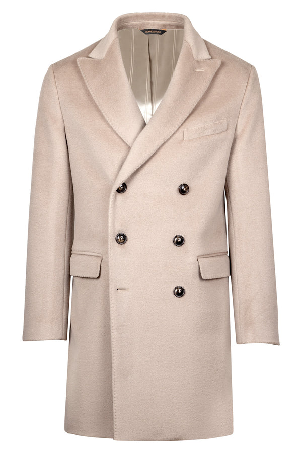 Lambs Wool Double-Breasted Coat