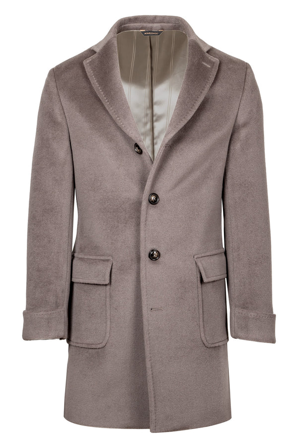 MONTEZEMOLO Men's Clothing - Outerwear - Lambs Wool Fleece Coat - www.montezemolostore.com
