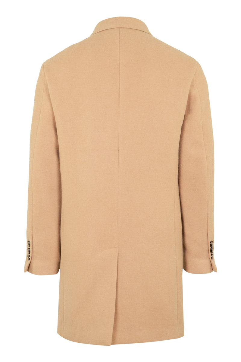 Light-Brown Technofabric Coat