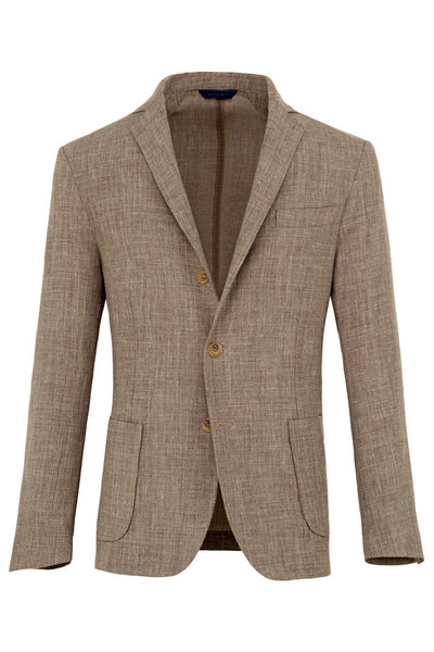 Stretch Linen Jacket