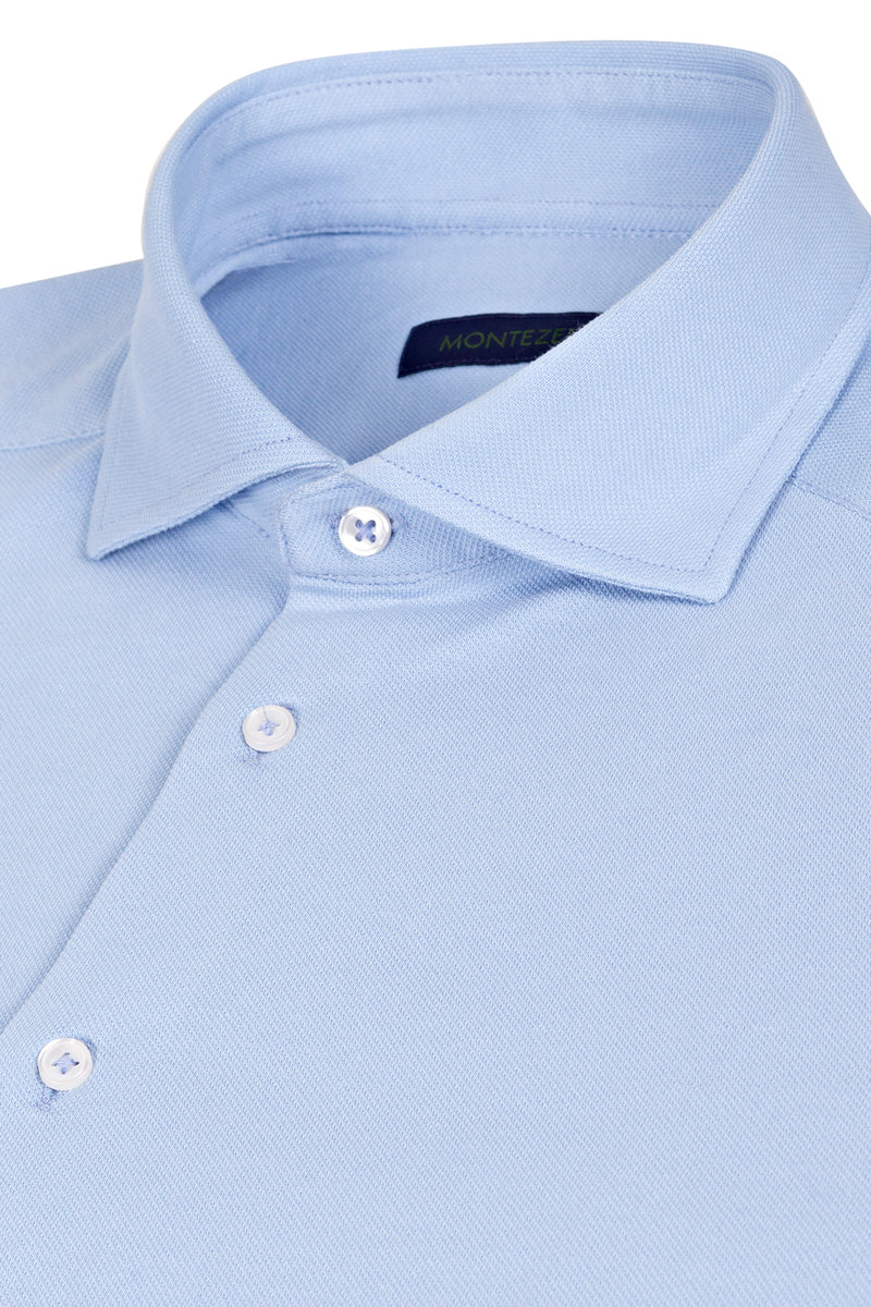 MONTEZEMOLO Men's Clothing - Shirts - Knitted Shirt Polo - www.montezemolostore.com